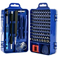 Rimposky 110 in 1 Screwdriver Set,Professional Multi-function Screwdriver Magnetic Repair Tool Kit Compatible with Cell…