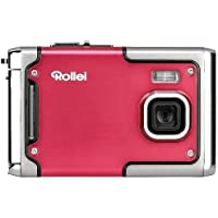 Rollei Sportsline 85 - Digital Camera - 8 Megapixels, 1080p Full HD Video Resolution, Waterproof up to 3 meters - Red