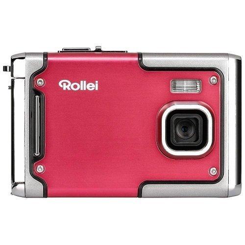 Rollei Sportsline 85 - Digital Camera - 8 Megapixels, 1080p Full HD Video Resolution, Waterproof up to 3 meters - Red
