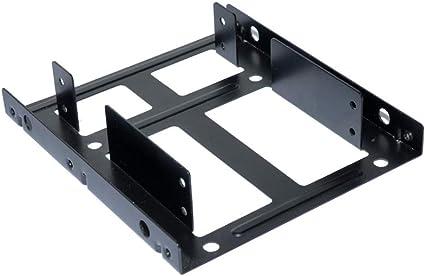Dual Desktop SSD Mounting Bracket Internal Adapter 2.5 To 3.5 Hard Drive New US