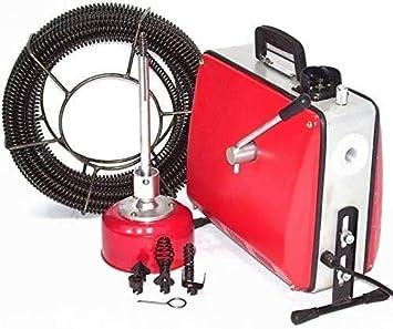 Rohrreinigungsspirale für Rohrreinigung Kanalreinigung 650W Rohrreinigungs