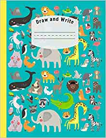 Draw and write exercise books