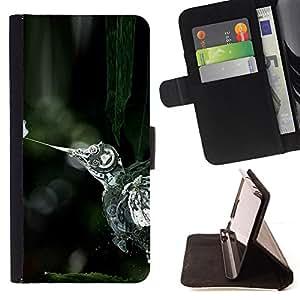 KingStore / Leather Etui en cuir / Apple Iphone 6 / Steampunk Aves