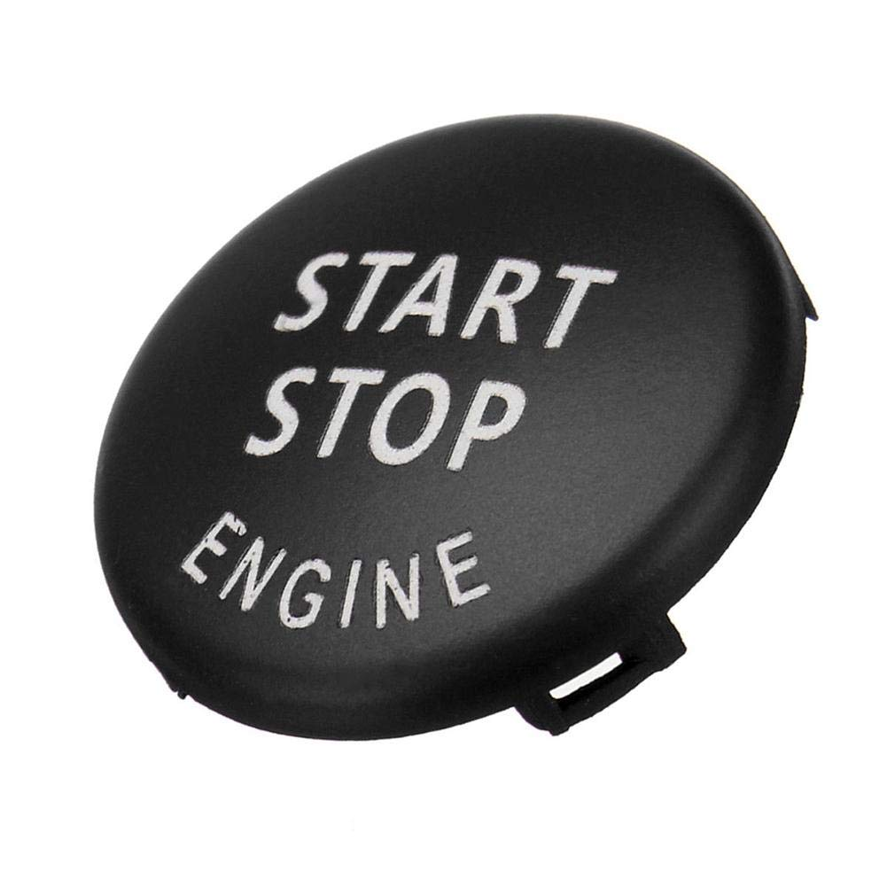 Ahomi Start Stop Coperchio interruttore pulsante motore per BMW X5 E70 X6 E71 serie 3 blu