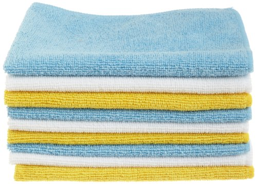 AmazonBasics Microfiber Cleaning Cloth Pack
