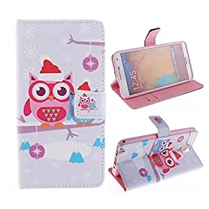 Note 4 Wallet,Ezydigital Carryberry PU Leather Wallet Credit /Card Flip Stand Case Skin Cover for Samsung Galaxy Note 4