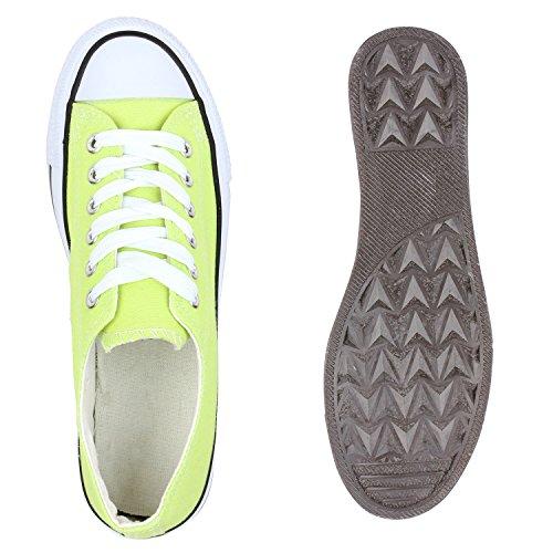 Stiefelparadies - Zapatillas de casa Mujer Verde - Hellgrün Schwarz
