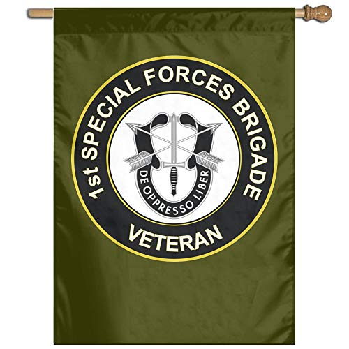 US Army 1st Special Forces Brigade Unit Crest Veteran 100% P