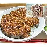 福井 県名物 ソースカツ丼 & 越前そば セット3人前分