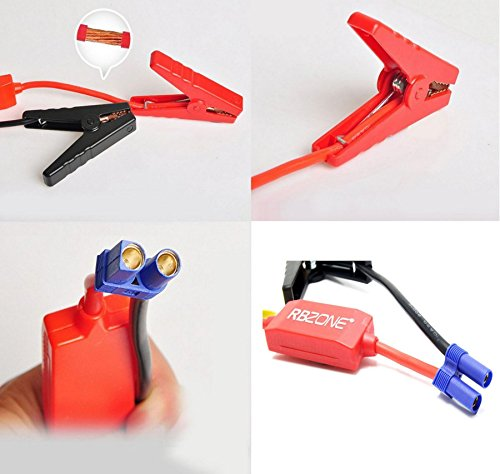 Car Battery Cable Replacement : Replacement jump starter connector emergency lead cable