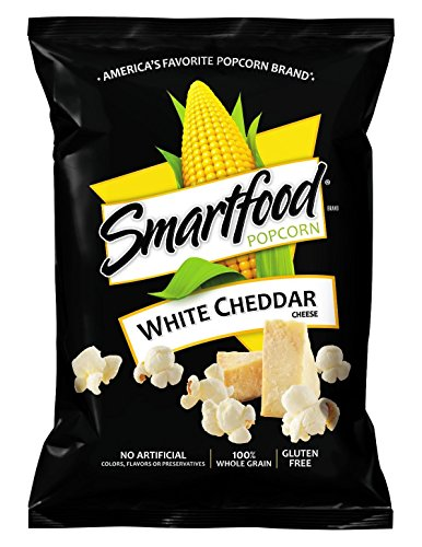Price comparison product image Smartfood White Cheddar Flavored Popcorn, 1 Ounce (Pack of 64)