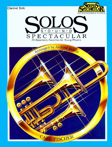 O5165 - Solos Sound Spectacular - Clarinet Solo