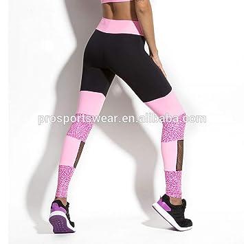 YUJIAGE Custom High Waist Gym Yoga Pants Workout Sports ...