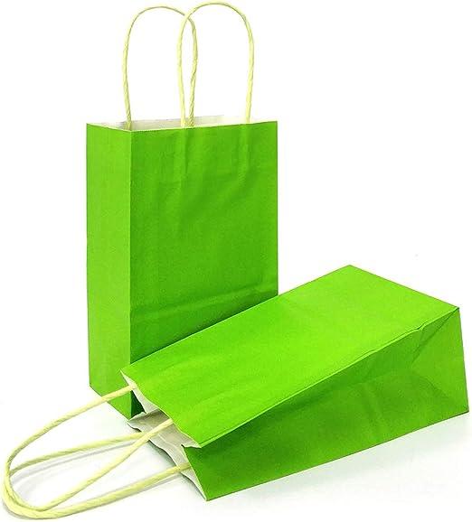 "Plastic Shopping Bags 1000 Hunter Green High Density Merchandise 12/"" X 3/"" X 18/"""