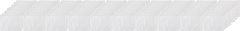 Panodia P100501 Lot de 100 Pochettes Papier Cristal Format Utile 10 x 15 cm