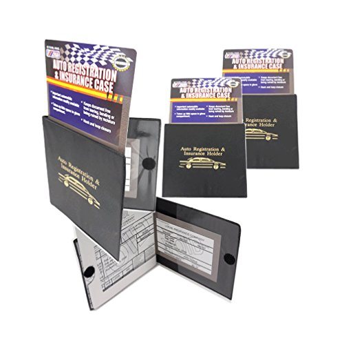 Sterling Pouch - Sterling Auto Car INSURANCE Registration Holders 2 Pack Automobile, Trailer, Truck etc. A MUST to have! Velcro Closure. 2 Pieces.Perfect for organizing glove compartment