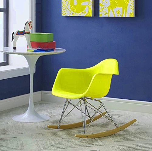 Huge Comfy Chair, Vivid Yellow Color, Durable & High Resistant Construction, Lightweight, An Attractive And Modern Design, Eye-Catcing, Portable, Ideal For Kids, Perfect Lounge, Easy Setup & E-Book.