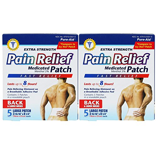 Hot Pain Relief Patch - 7