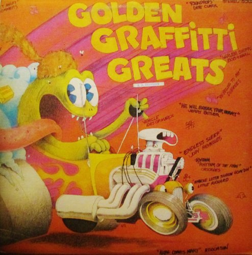 Golden Graffitti Greats 18 Hits of the 50's 60's & 70's Original Music Productins Corp. Records Stereo release 5000 Pop Vinyl