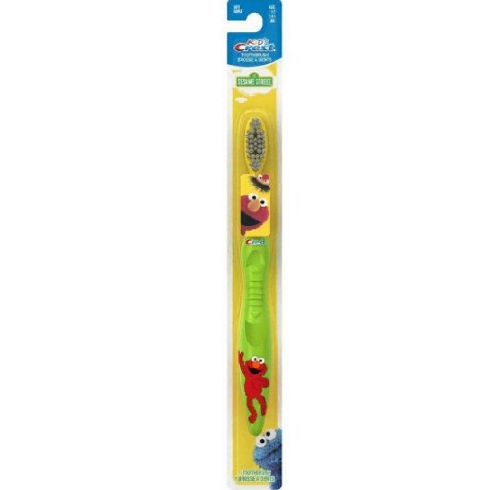 Crest Toothbrush Kid's Soft Sesame Street 1 Each (Pack of 4)