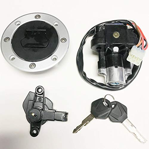 Ignition Switch Gas Cap Cover Key Set Suzuki Bandit 600 1200 GSF600S GSF1200
