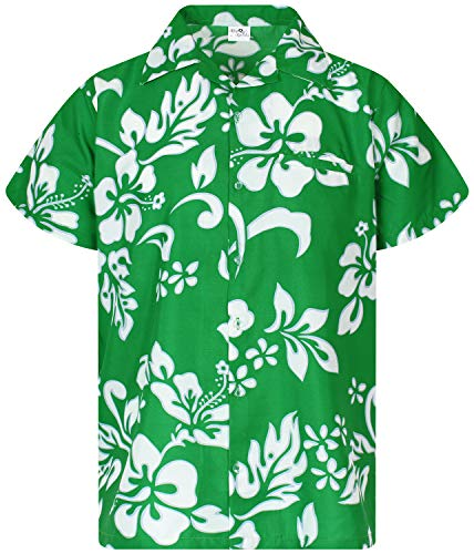Used, King Kameha Funky Hawaiian Shirt, Shortsleeve, Hibiscus, for sale  Delivered anywhere in USA