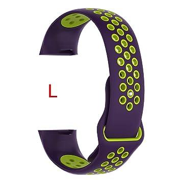 Roful Banda para Fitbit Charge 3 Bandas, 12 Colores para Fitbit ...
