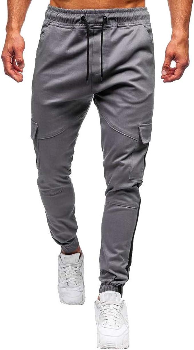 S-3XL Herren Mode Freizeit Hose Jogginghose Hosen Lässig Trainingshose Trousers