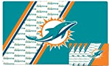 Duck House NFL Miami Dolphins Placemat & Coaster Set