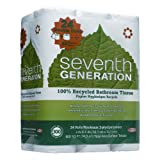 Seventh Generation 100% Recycled Double Roll Bath Tissue Review and Comparison