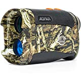 AOFAR Range Finder for Hunting Archery H2 600/1000 Yards Shooting Wild Waterproof Coma Rangefinder with Angle and Horizontal Distance, 6X 25mm, Range and Bow Mode, Free Battery Gift Package