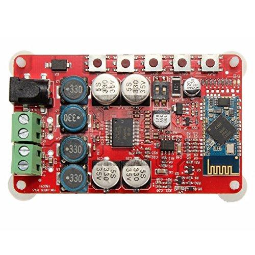Amplificador de Áudio Bluetooth Receptor TDA7492P 50+50W