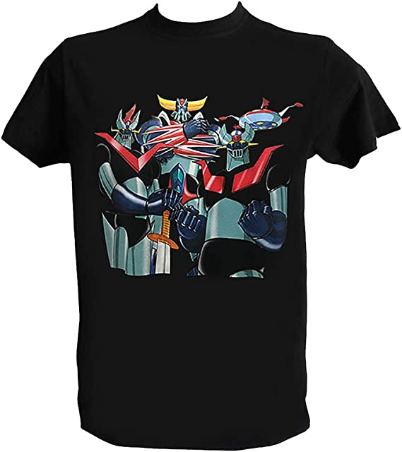 UFO Robot Grendizer Goldorak Anime Manga Mans Fashion T-Shirt Athletic