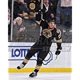 Milan Lucic Boston Bruins third jersey fist pump 8x10 11x14 16x20 photo 669 - Size 11x14