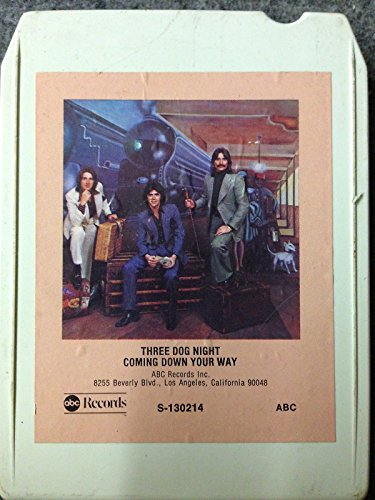 THREE DOG NIGHT Coming Down Your Way 8 Track tape