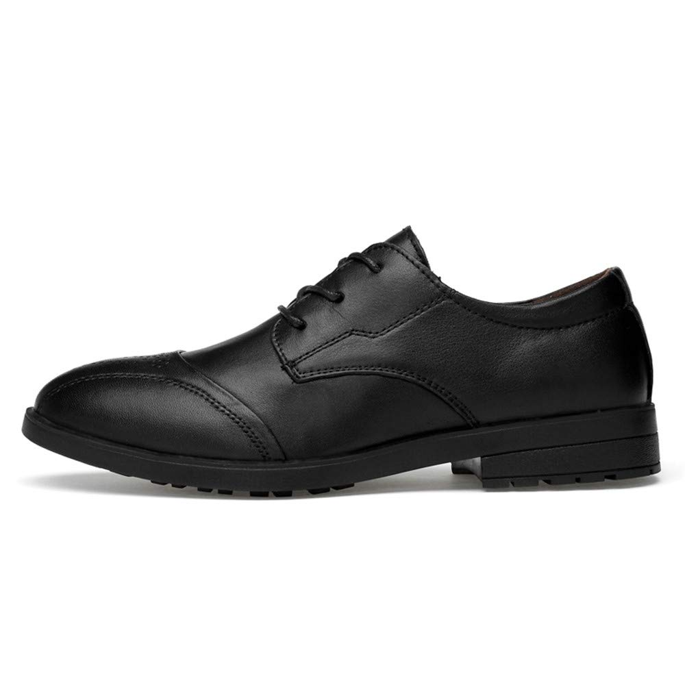 finest selection 0cdaa 9e96d ... Bw8ItVmg Men s Business Oxford Casual Simple Simple Simple Classic  Round Head Formal Shoes 9.5 D( ...