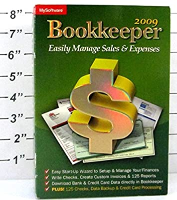 Avanquest MySoftware 2009 Bookkeeper: Easily Manage Your Sales & Expenses