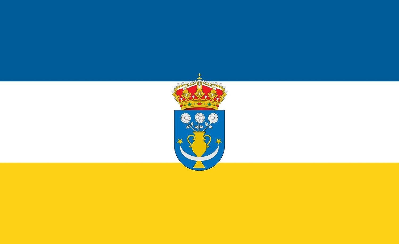 magFlags Bandera Large Galaroza Spain | Galaroza Huelva | Bandera Paisaje | 1.35m² | 90x150cm: Amazon.es: Jardín