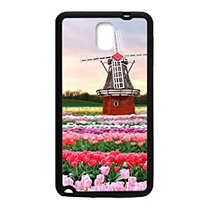 Beautiful flowers and windmill lovely phone For Case Samsung Galaxy S3 I9300 Cover