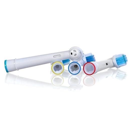 Oral-B Cepillo de repuesto Oral Cepillo de dientes Reemplazo B Cabeza de cepillo de dientes eléctrico - 16pcs