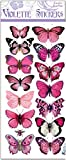 package stickers - Violette Stickers Pastel Pink Butterflies