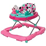 Disney Minnie Mouse Pink Dottie, Music and Lights Walker with Activity Tray