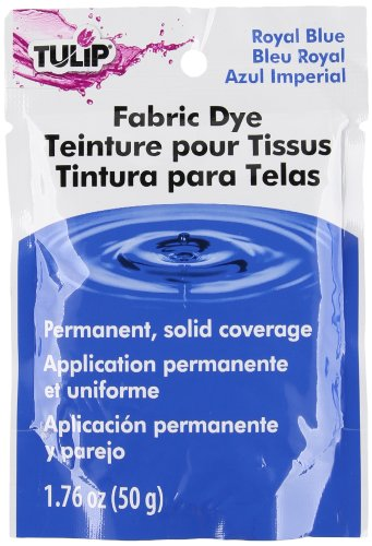 Tulip 26586 Permanent Fabric Dye- Royal Blue