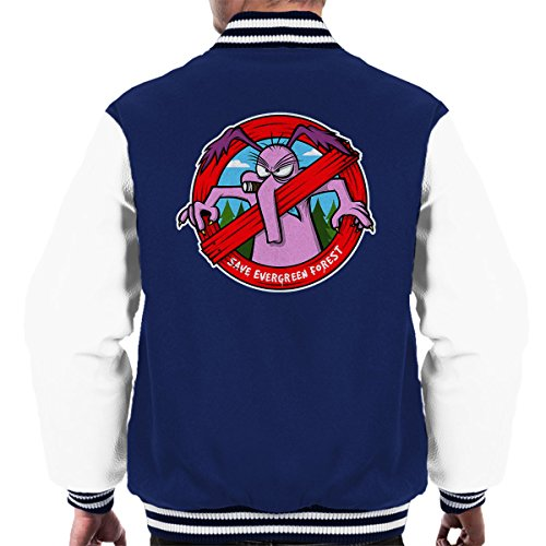 Varsity Forest Save white The Navy Men's Sneer Cyril Raccoons Evergreen Jacket FZ7Zqwa