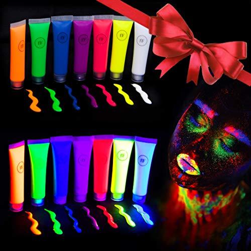 FestiFACE UltraGlow UV Neon Face & Body Paint