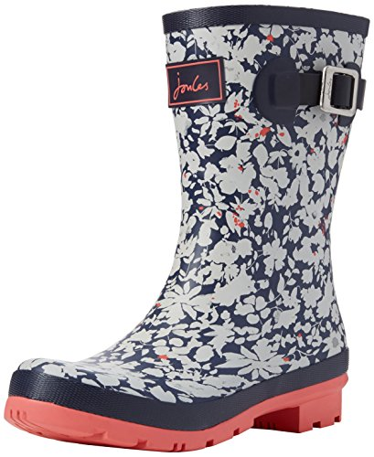 Joule Kvinna Molly Welly Regn Boot Navy Marn Ditsy