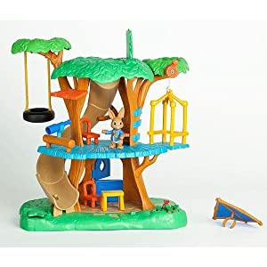 Nick jr peter rabbit treehouse playset toys for Cuisine bois toys r us