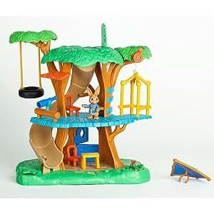 Nick jr peter rabbit treehouse playset toys for Playskool kitchen set