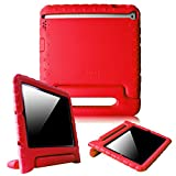 Fintie iPad 2/3/4 Kiddie Case - Light Weight Shock Proof Convertible Handle Stand Kids Friendly for Apple iPad 4th Generation With Retina Display, the iPad 3 & iPad 2 - Red
