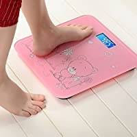 Glive's Digital Lcd Body Fitness Weighing Scale Body Weight Measurement Scale Digital Bathroom Weighing Scale